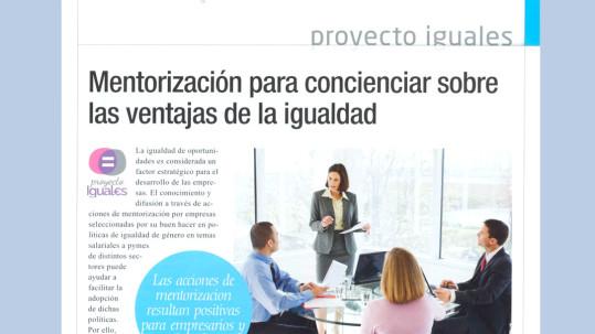 Proyecto Promociona - Proyecto Iguales - El Empresario Sept 2015