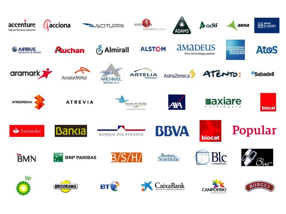 Empresas participantes en el Proyecto Promociona I