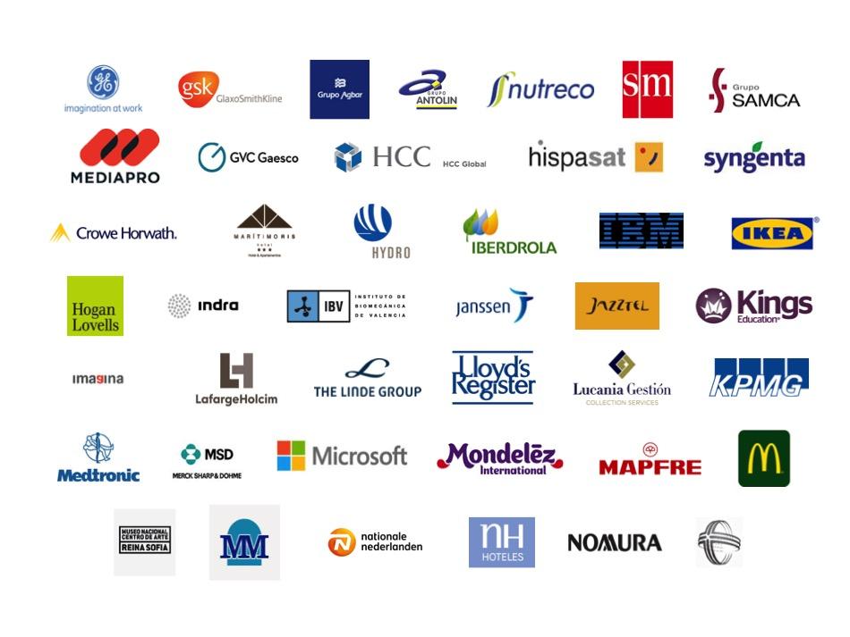 Empresas participantes en el Proyecto Promociona 3