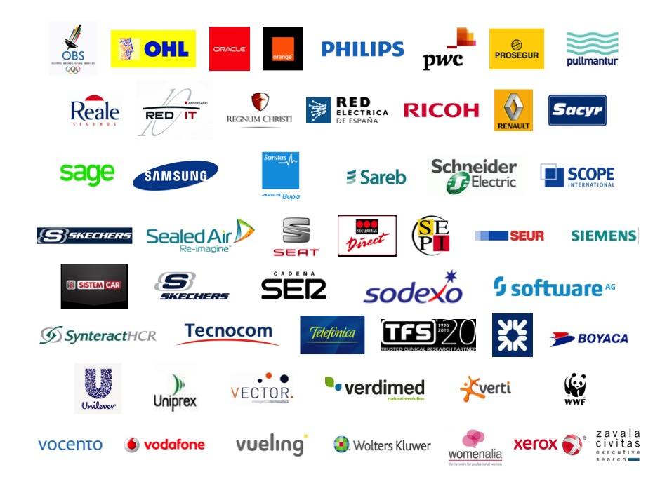 Empresas participantes en el Proyecto Promociona 4