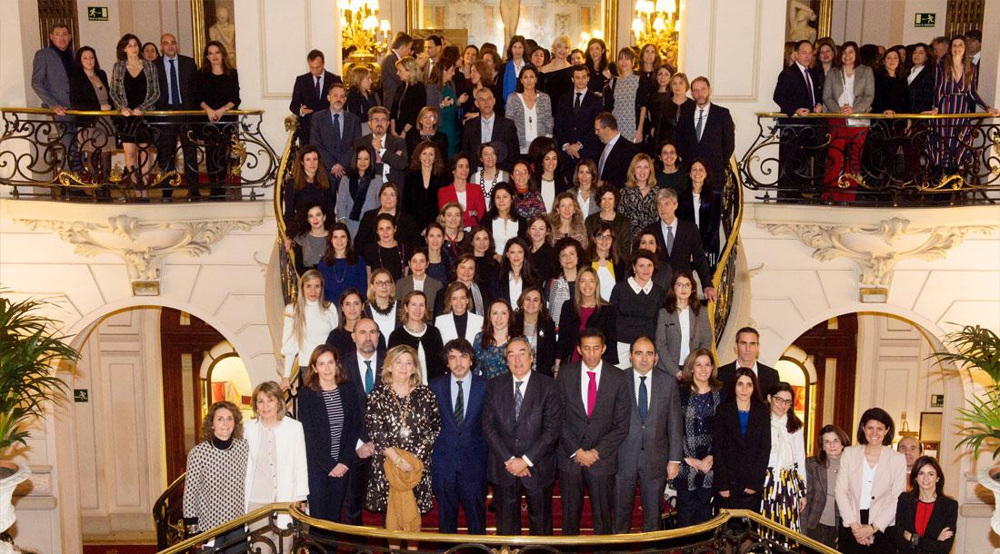Foto de Grupo, Mentores y Participantes de la V Edición del Proyecto Promociona